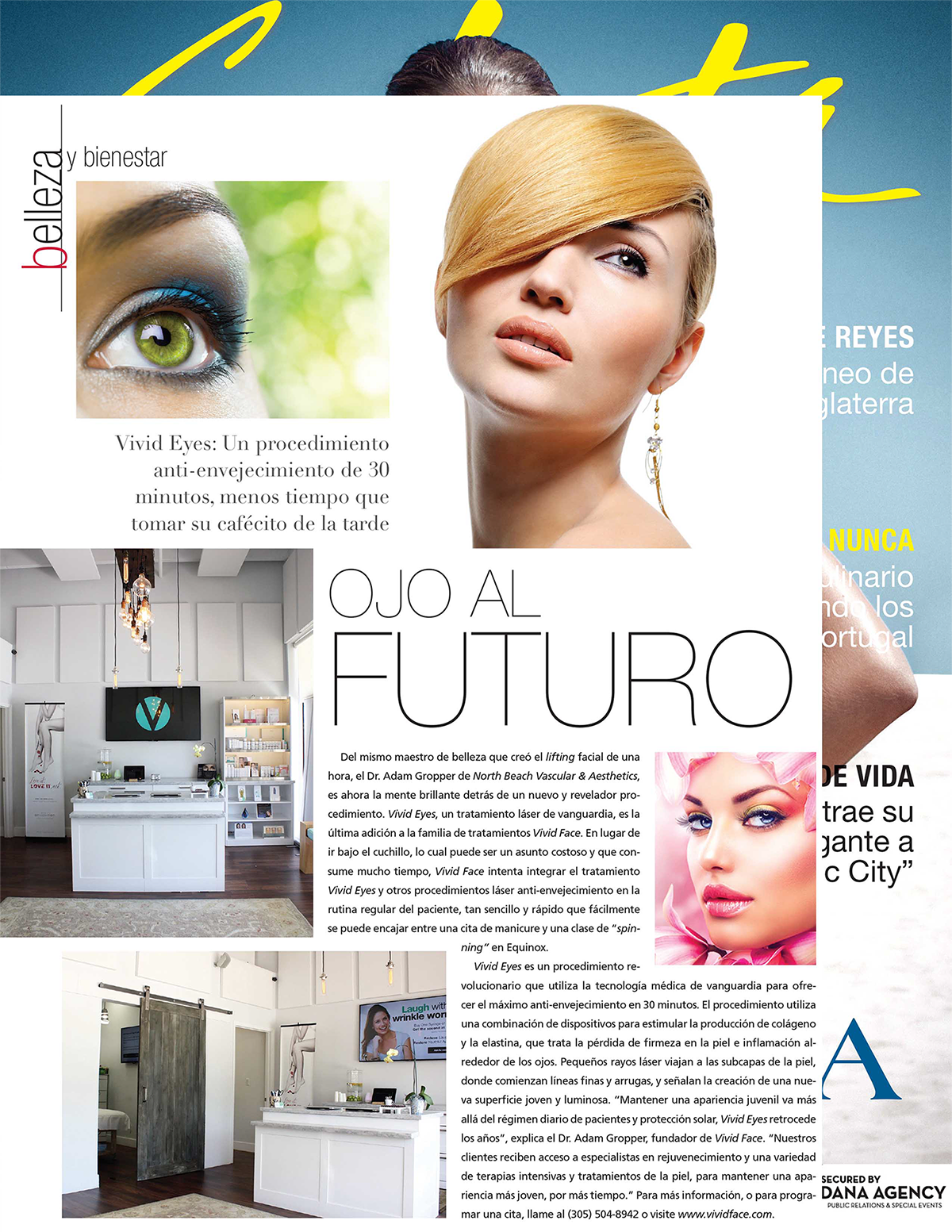 VividFace in Selecta Magazine